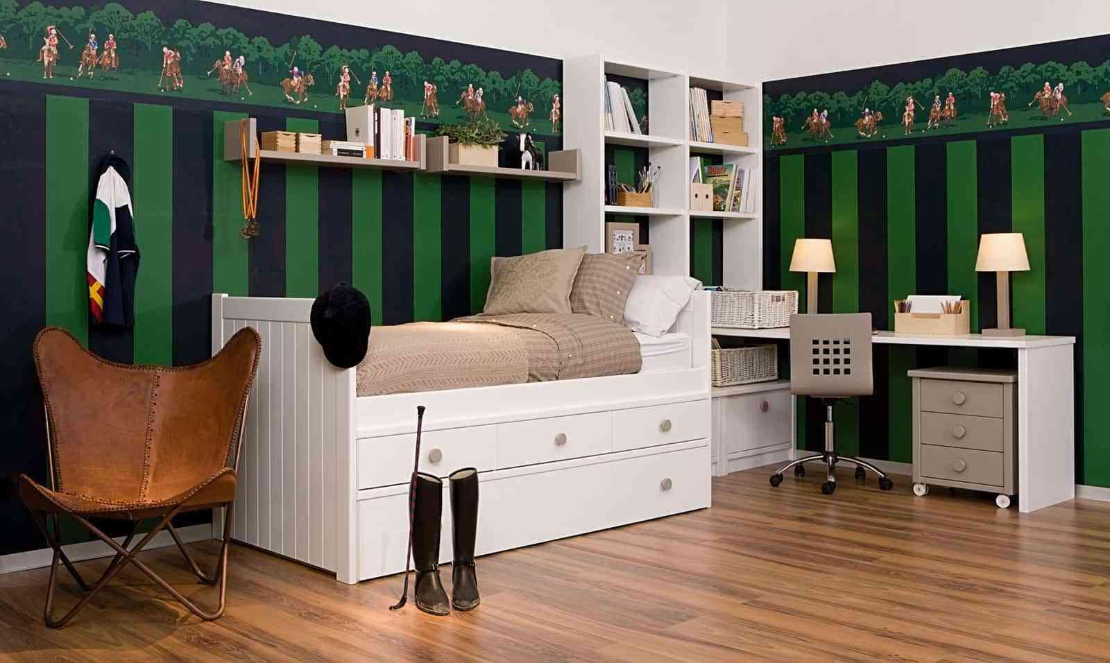 Dormitorios juveniles de dise o moderno a los que no podr for Disenos de cuartos para hombre
