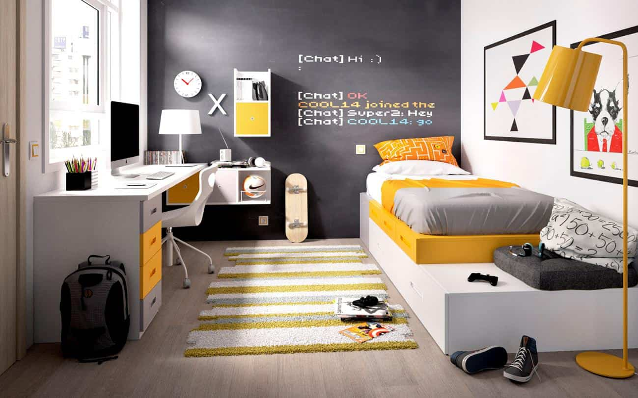 Dormitorios juveniles de dise o moderno a los que no podr - Decoracion para dormitorio juvenil ...
