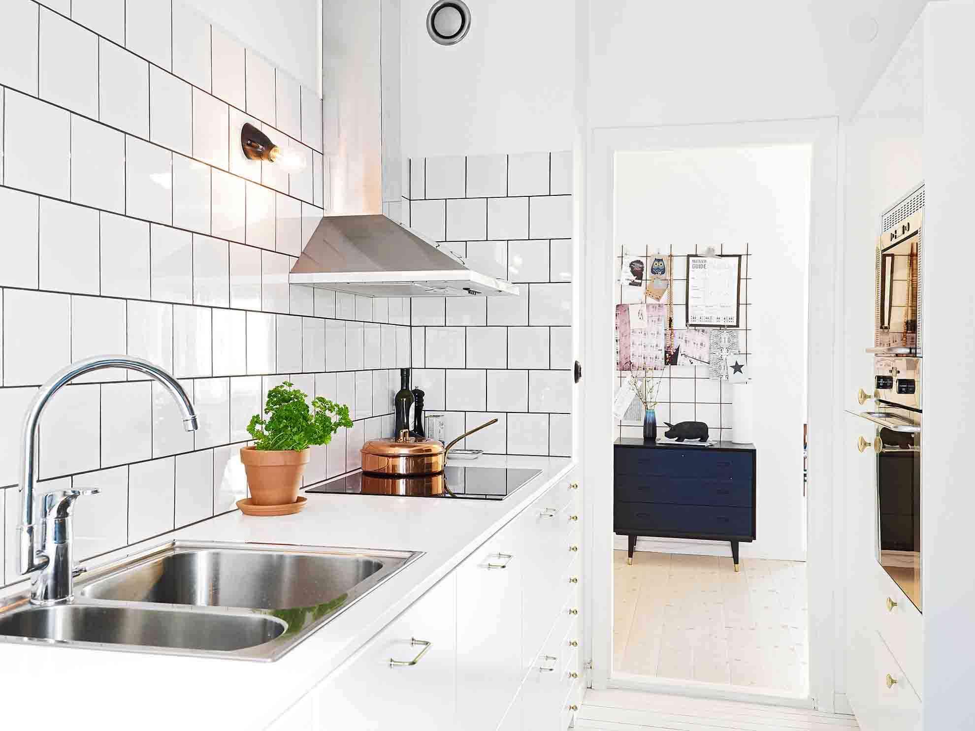Azulejo Blanco Cocina | Azulejos Blancos Para Cocina