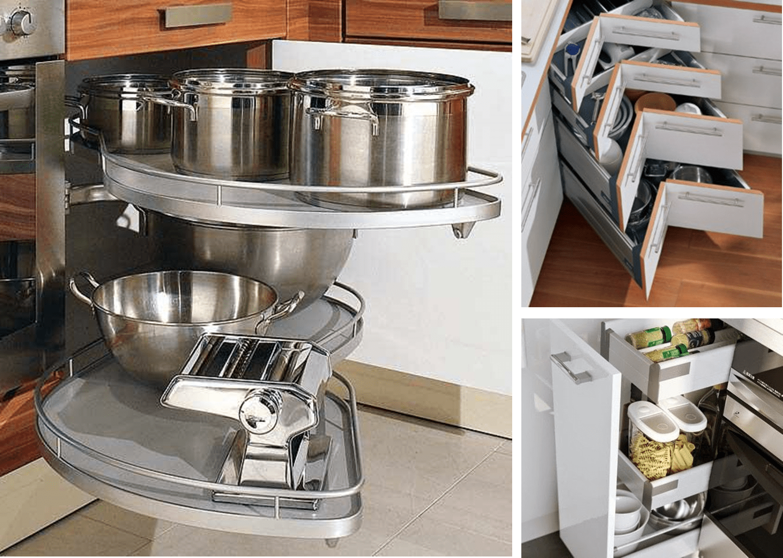 8 accesorios para muebles de cocina realmente pr cticos for Ideas muebles cocina