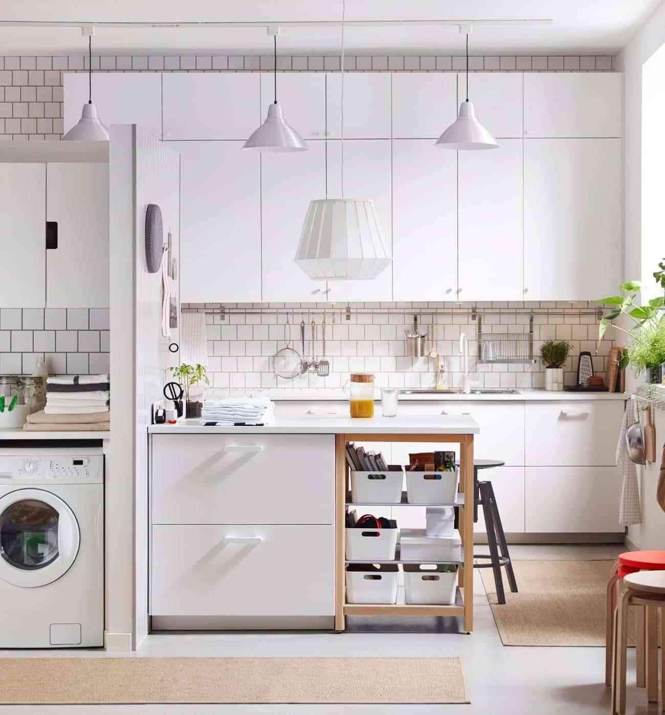 Cómo plantear la decoración de cocina americana?