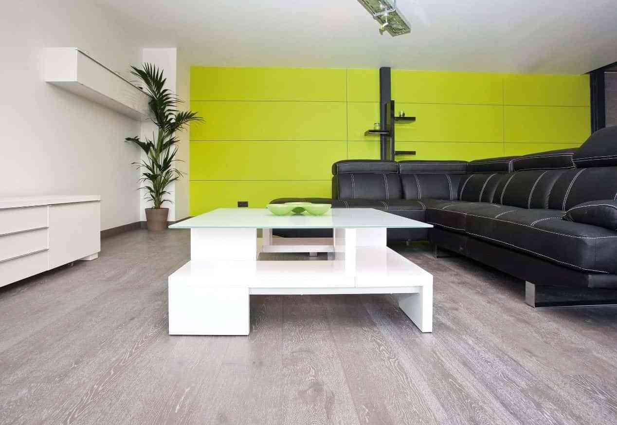 Tendencia del color gris en suelos de madera decoraci n - Suelo de madera ...