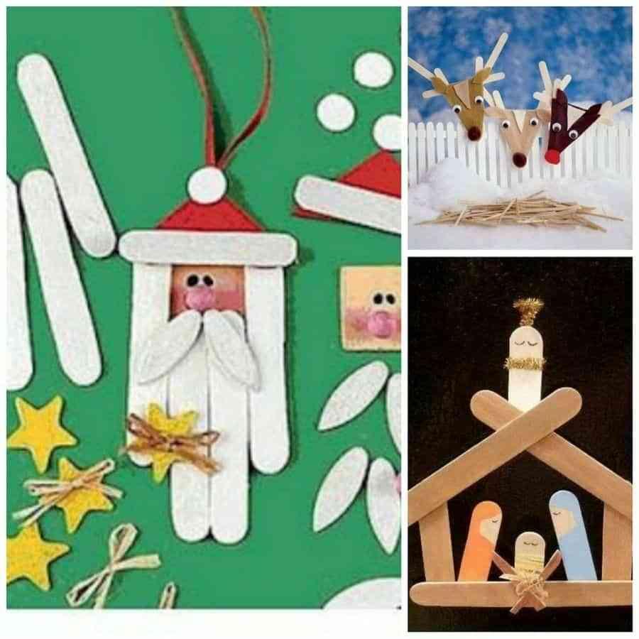 manualidades de adornos navidenos para ninos regalos