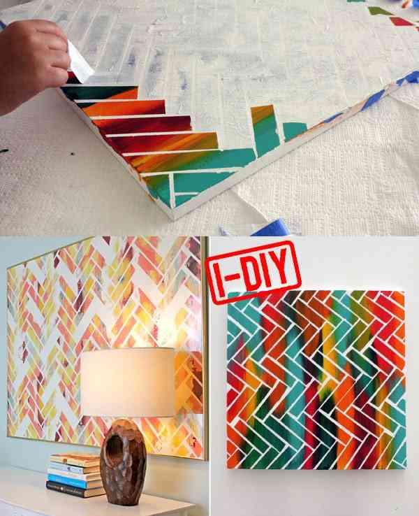 7 Ideas Para Pintar Cuadros Fáciles En Casa Sorpréndete Con El