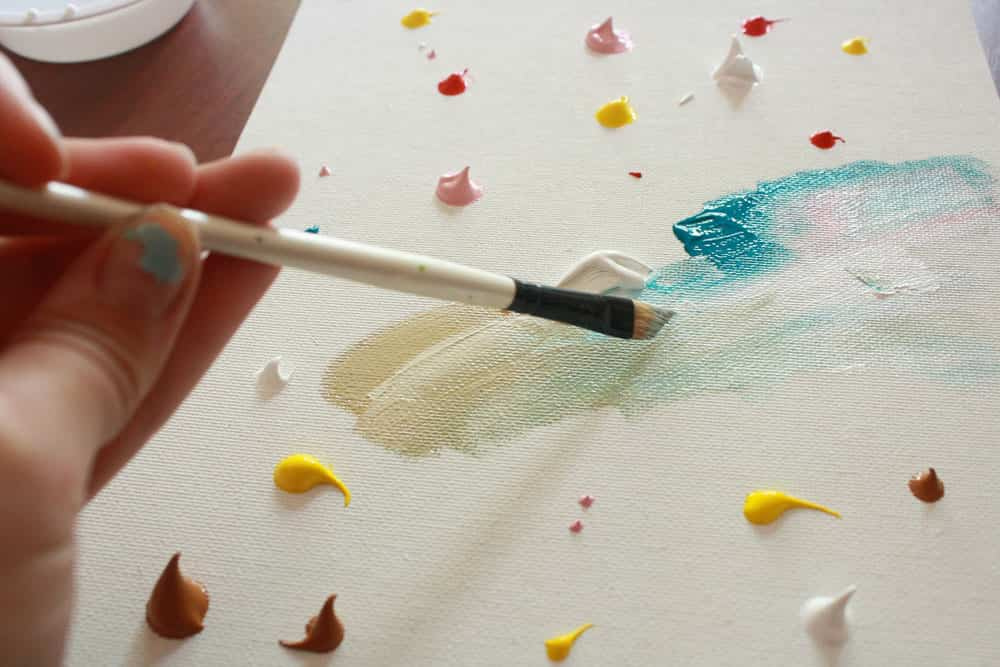 7 ideas para pintar cuadros f ciles en casa sorpr ndete for Painting projects for adults