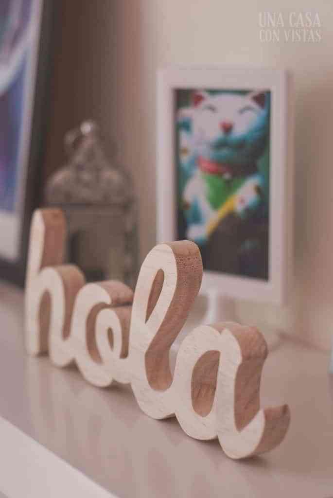 letras de madera I