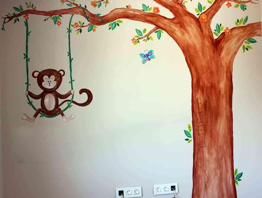 pintar murales infantiles IX