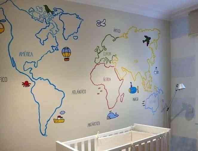 pintar murales infantiles VIII