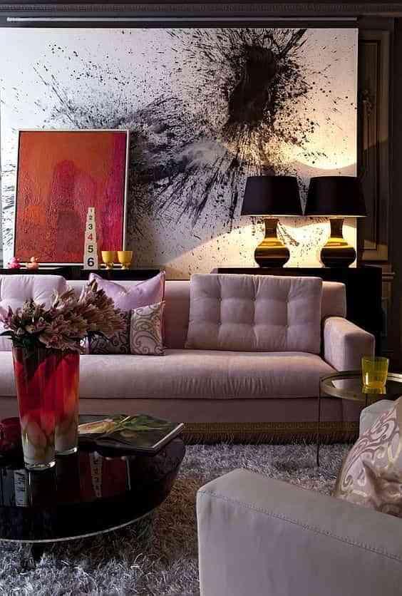 Decoracion con cuadros modernos yesurprise impresin en - Leroy merlin cuadros modernos ...