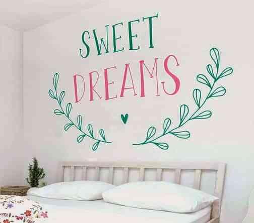 vinilos para dormitorios frases