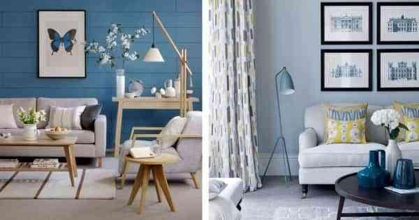 Colores para paredes con la llegada del verano aire - Colores azules para paredes ...