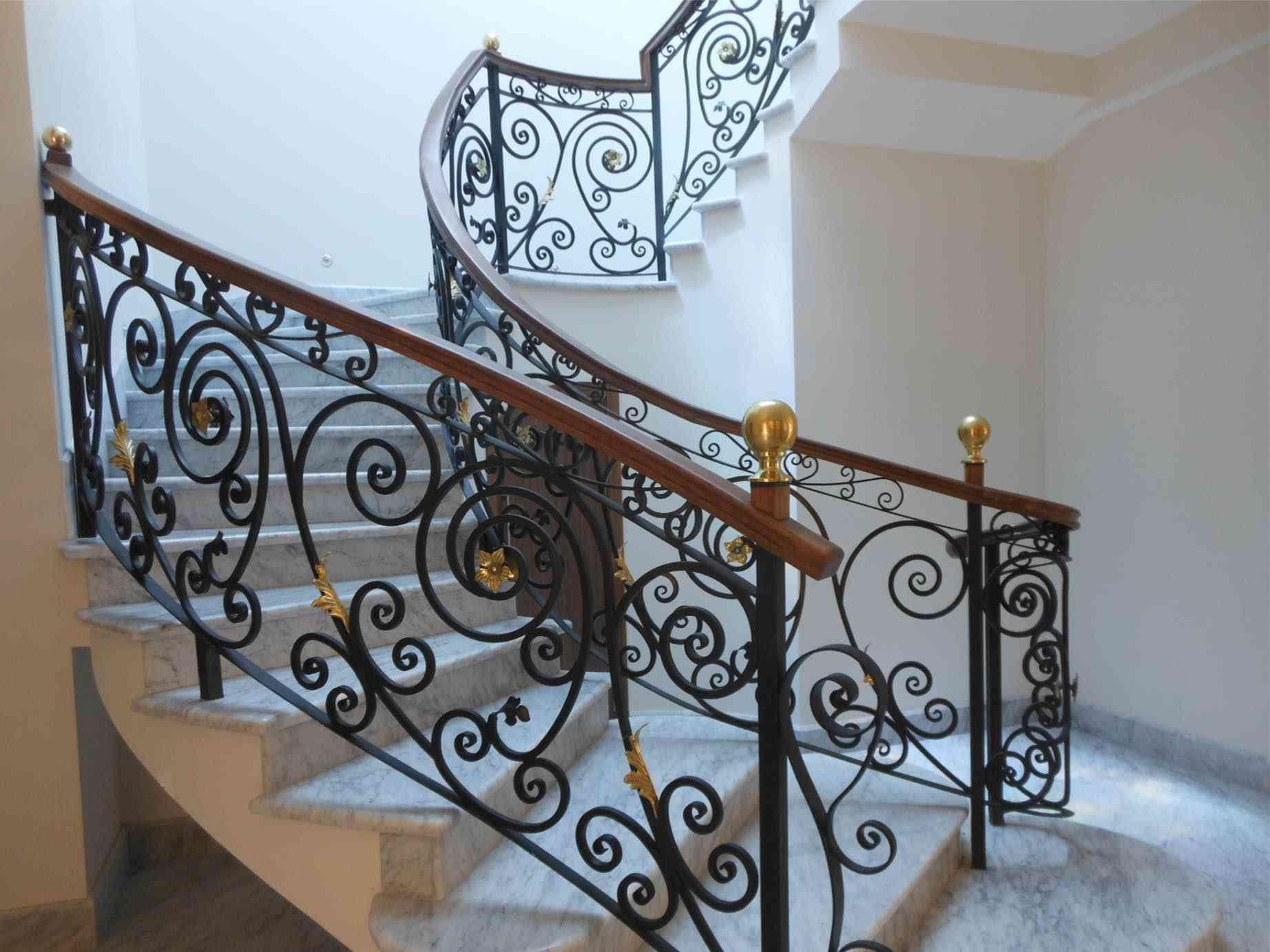 Ideas para decorar barandillas de hierro forjado para tus - Barandillas de hierro ...