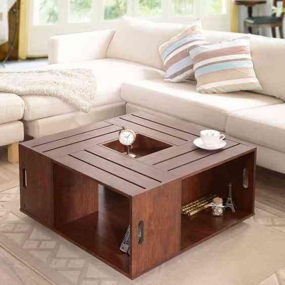 C mo hacer muebles con cajas de madera de forma f cil for Modelos de barcitos hecho en madera