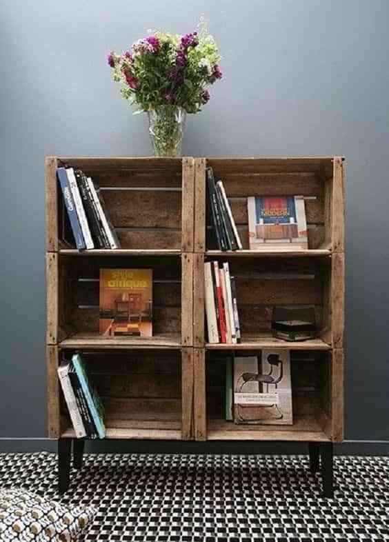 C mo hacer muebles con cajas de madera de forma f cil for Muebles con cajas de madera