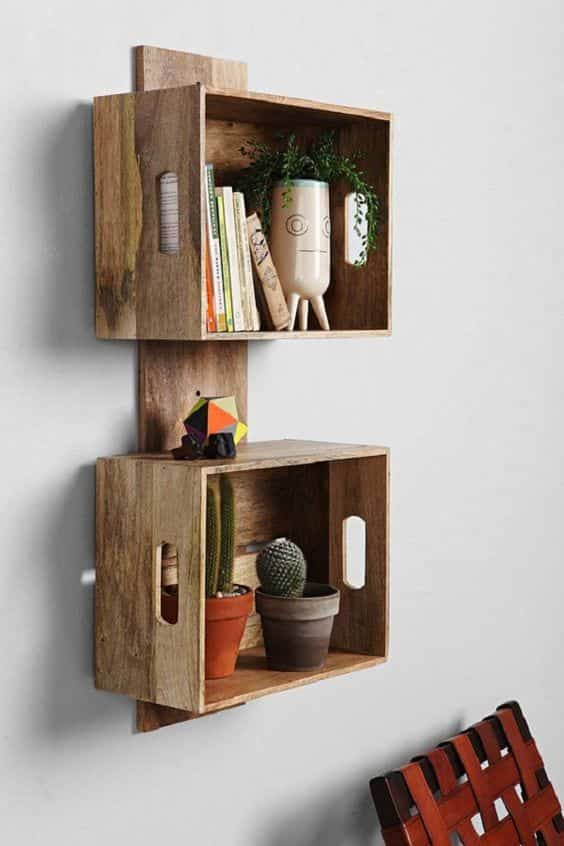 muebles con cajas de madera IV
