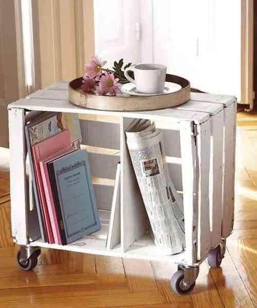 muebles con cajas de madera IX