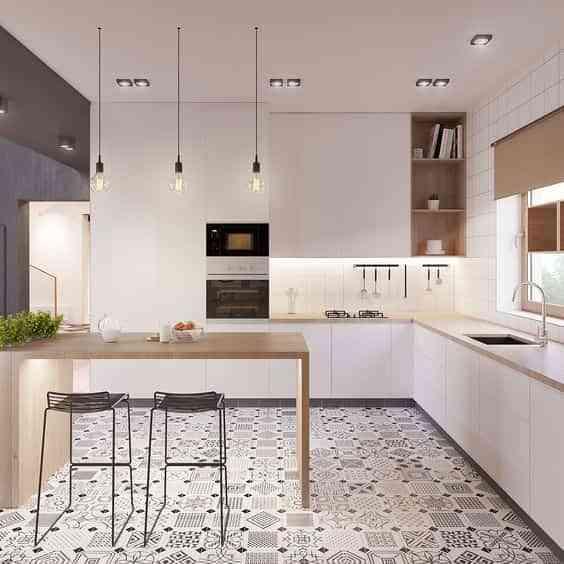 suelos de cocina modernos II
