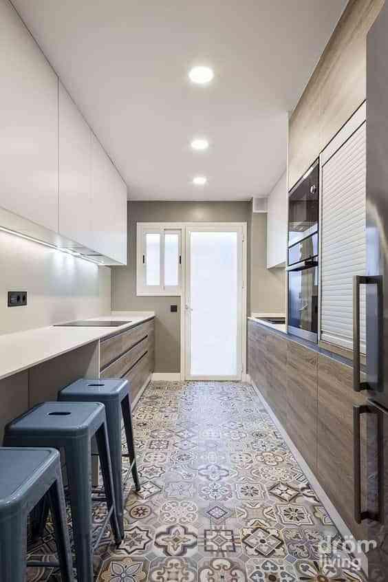 suelos de cocina modernos IX