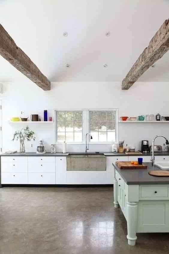 suelos de cocina modernos X
