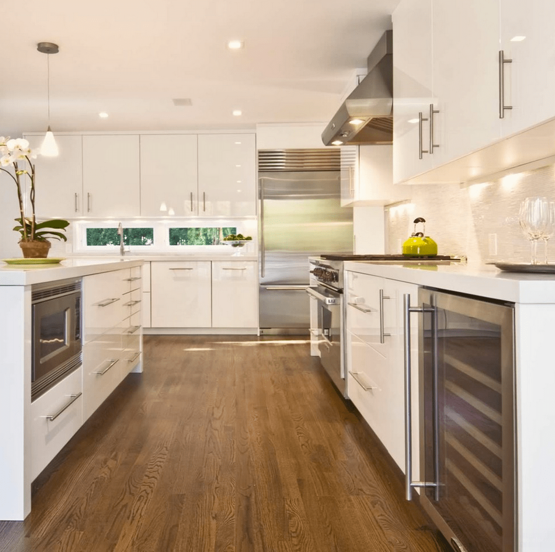 Suelos de cocina modernos y funcionales cu l se adapta for Suelos vinilicos para cocina
