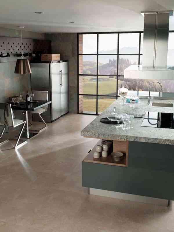 suelos de cocina modernos XII