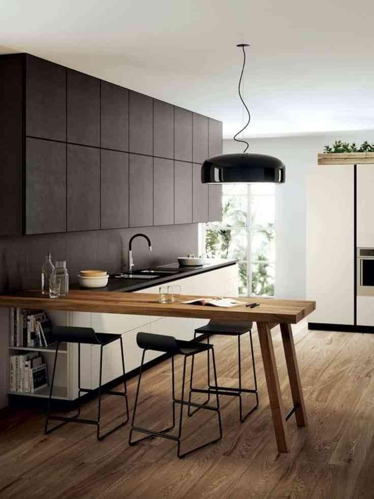 suelos de cocina modernos