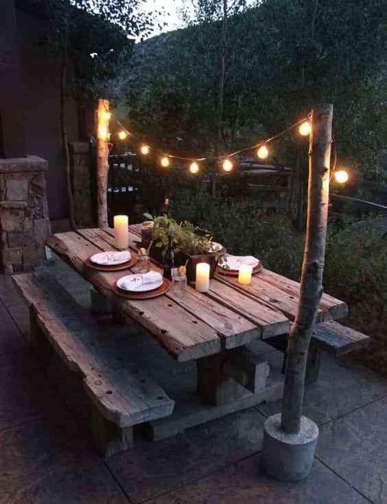 iluminar la terraza VIII