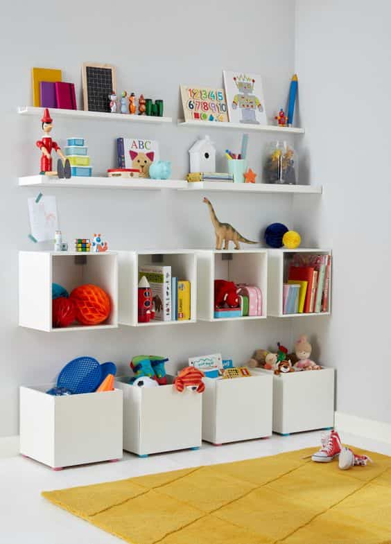 organizar el dormitorio infantil VII