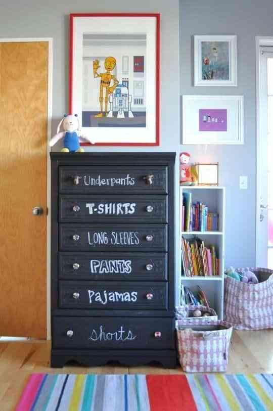 organizar el dormitorio infantil X
