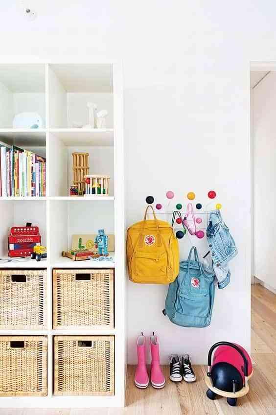 organizar el dormitorio infantil