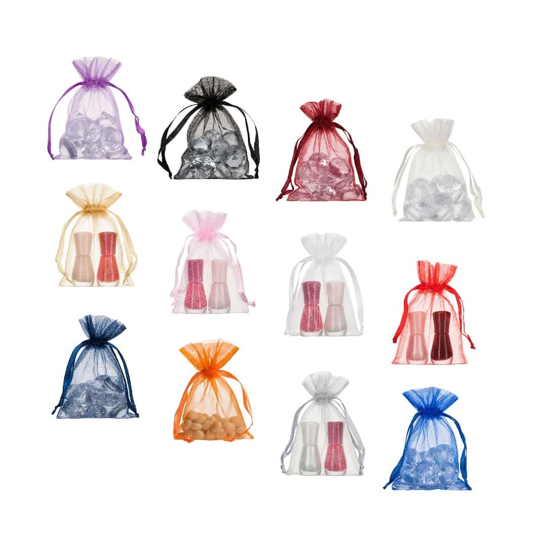Ideas para decorar un evento con bolsas de organza