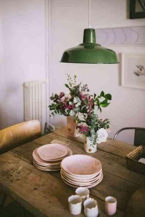 decorar con plantas V