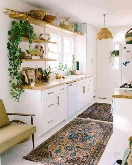 Trucos para aprovechar el espacio en cocinas peque as - Aprovechar cocinas pequenas ...