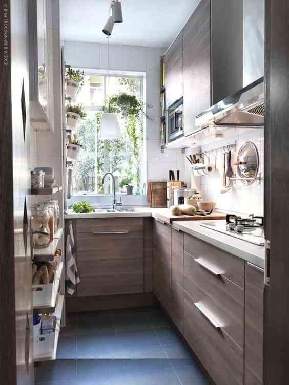 Trucos para aprovechar el espacio en cocinas pequeñas
