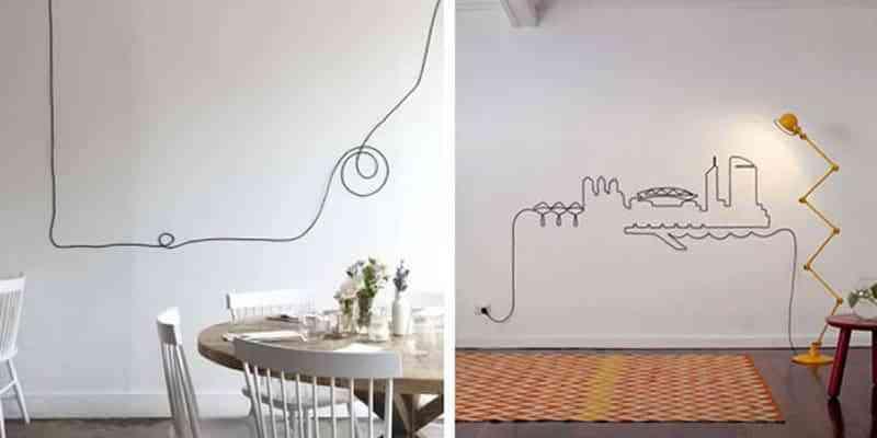 decorar con cables III
