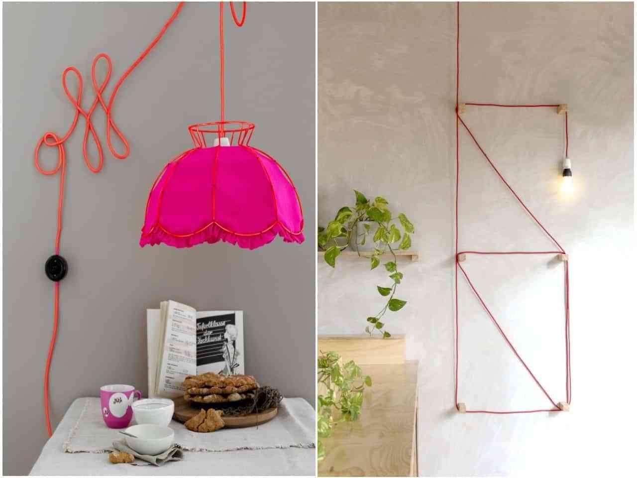 decorar con cables V