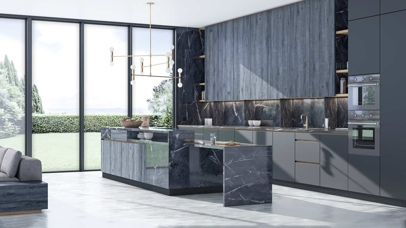 Consigue cocinas con carácter único con los nuevos acabados Stucco y Fusion de Innovus 2