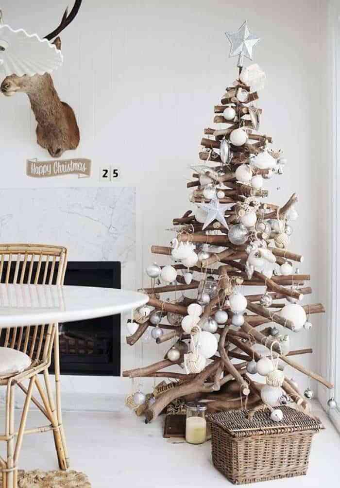 10 Formas De Hacer Un Arbol De Navidad De Madera