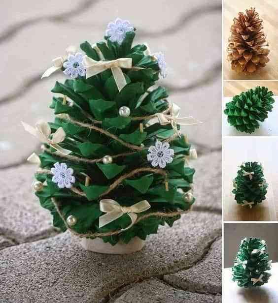 decorar con pinas IV