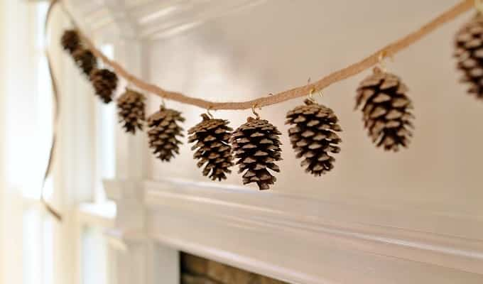decorar con pinas IX