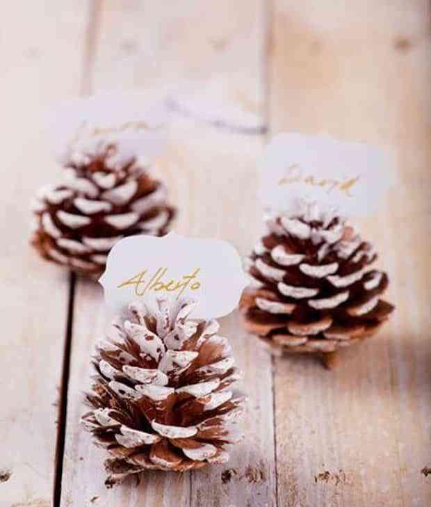decorar con pinas X