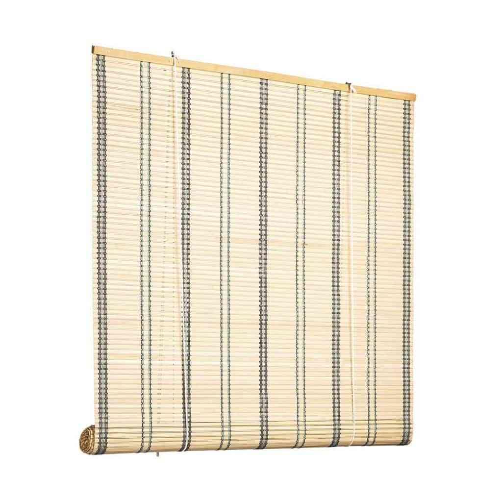 Apuesta por las cortinas y estores de madera 2