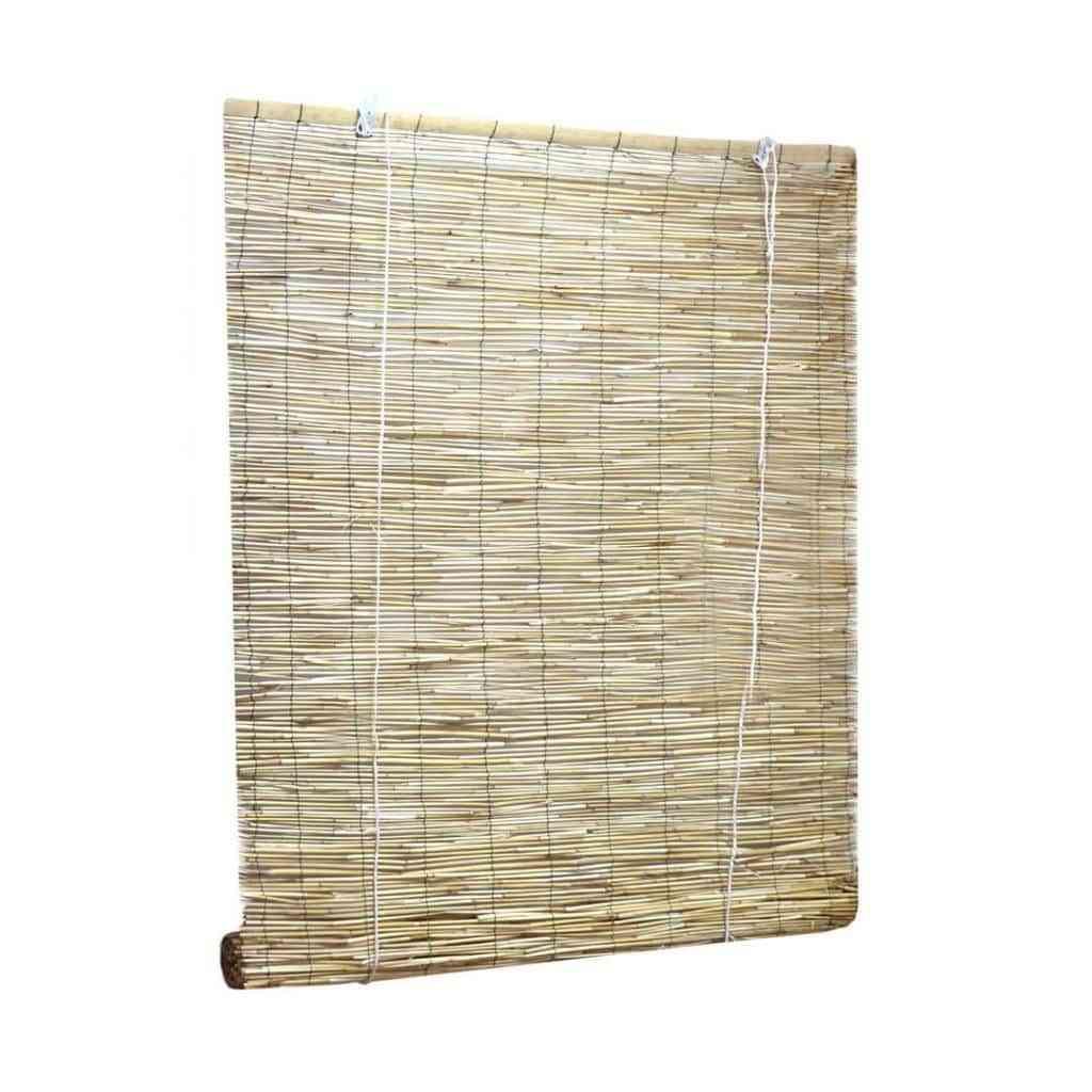 Apuesta por las cortinas y estores de madera 3