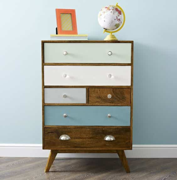 Como pintar muebles antiguos excellent como reciclar for Pintar mueble barnizado