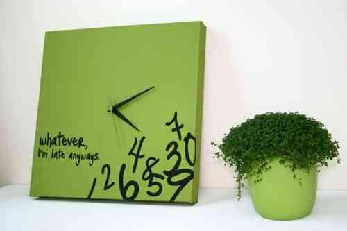relojes de pared X