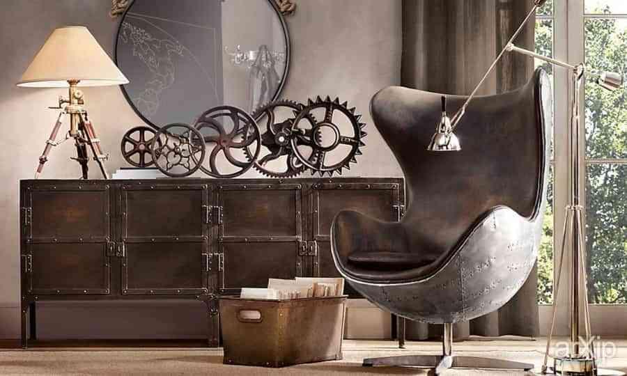 9 ideas de decoración steampunk para crear espacios únicos