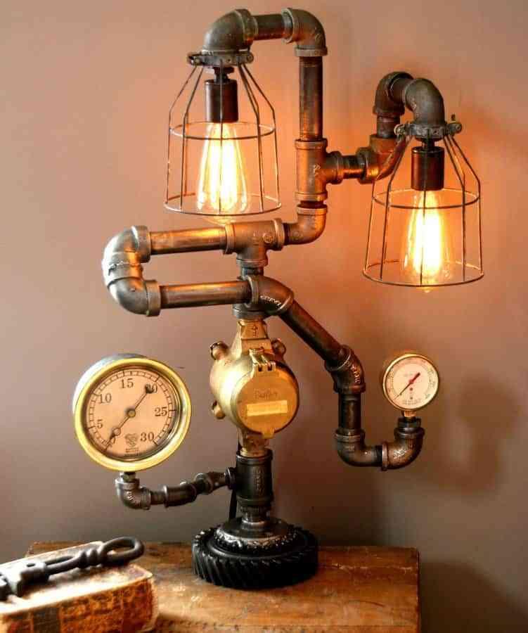 9 ideas de decoración steampunk para crear espacios únicos 3