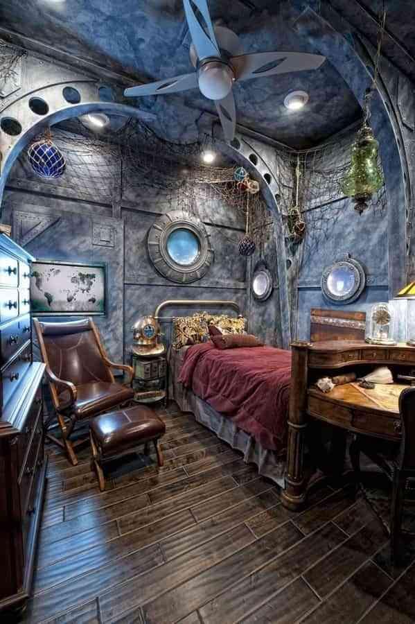 9 ideas de decoración steampunk para crear espacios únicos 7