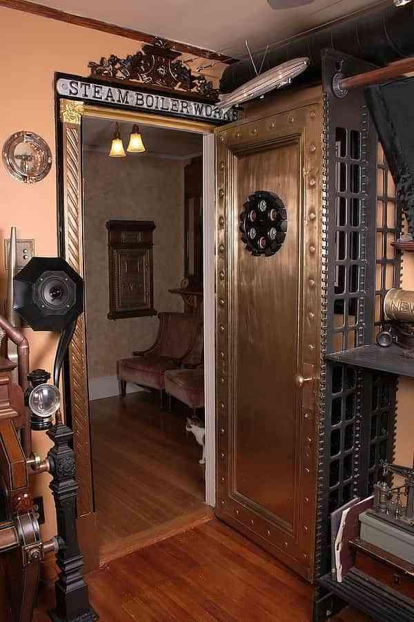 9 ideas de decoración steampunk para crear espacios únicos 9