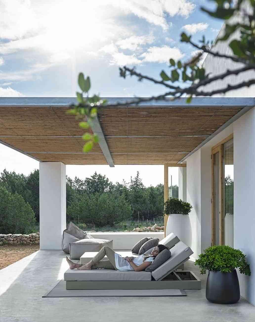 Cama de diseño Chill para un descanso a la Mediterránea 2